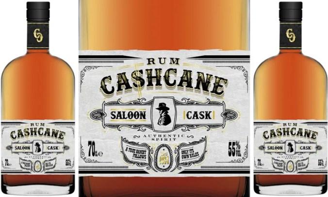 Cashcane Saloon Cask blended aged rum