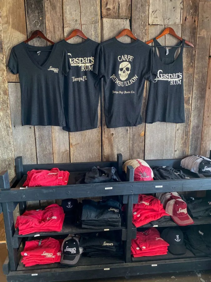 Swag For Sale at Tampa Bay Rum Company