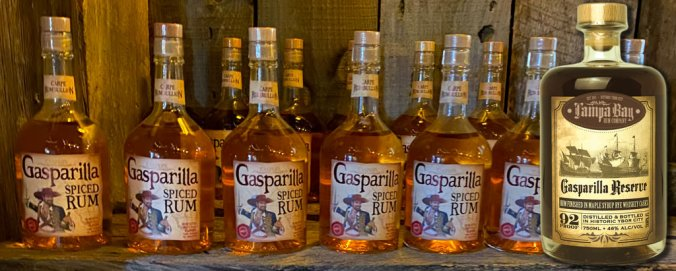 Gasparilla Rums from Tampa Bay Rum Company