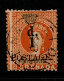 Grenada SG 39 fine used