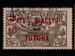 French Cols-Wallis and Futuna SG 41 fine used