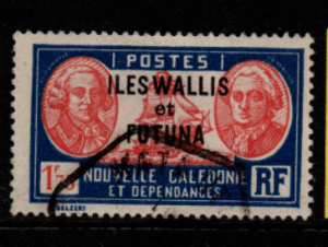 French Cols-Wallis and Futuna SG 76 fine used