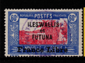French Cols-Wallis and Futuna SG 109a fine used