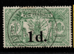 New Hebrides SG 40 fine used