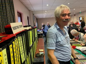 Robin Borwick, Robstine Stamps, Fine Used Stamp Dealer UK