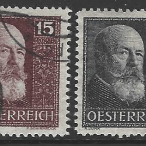 Austria SG 642-645, fine used stamps