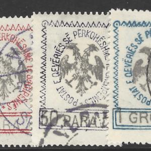 Albania SG 22-26