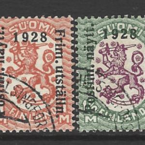 Finland SG 258-259
