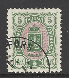Finland SG 120. Signed by Expert