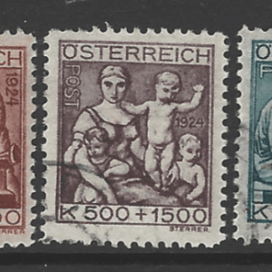 Austria SG 563-567, fine used stamps