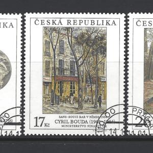 Czech Republic SG 312-314