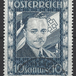 Austria SG 793, 1936 the Assassination of Dollfuss stamp, fine used