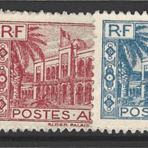Algeria SG 206-210