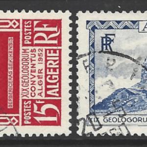 Algeria SG 317-318