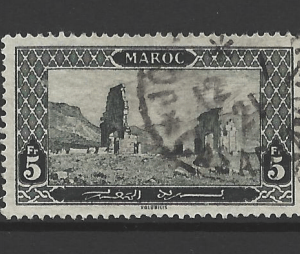 Morocco-French, SG 91