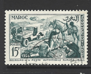 Morocco-French, SG 433