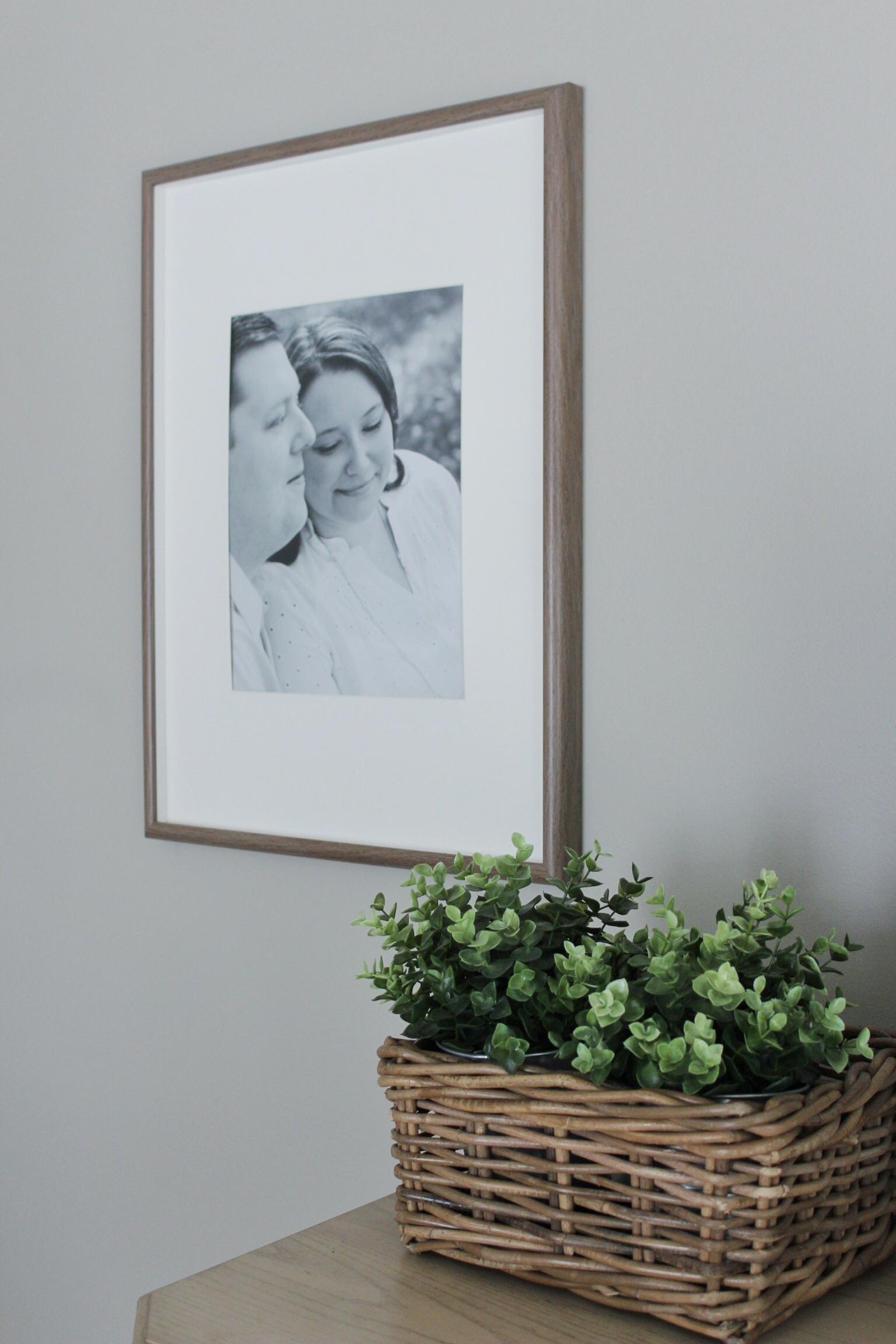 DIY Photo Framing Project • Robyn\'s Southern Nest