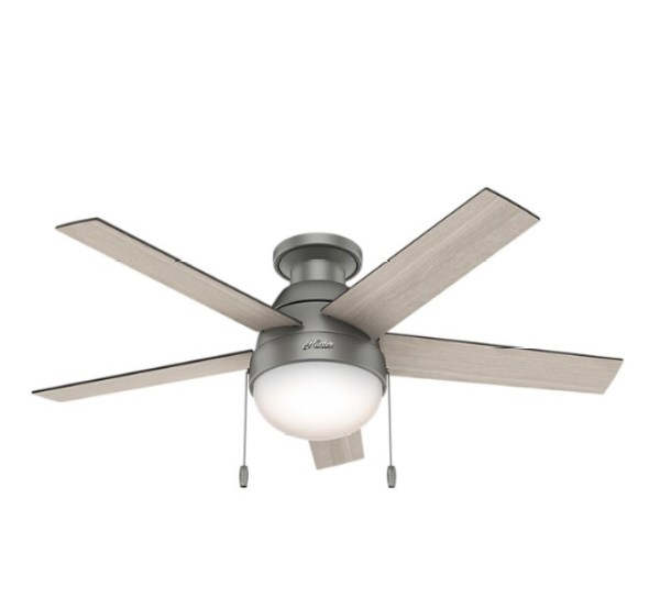 Stylish ceiling fans robyns southern nest hunter palermo lq 52 indoor ceiling fan 5 reversible blades aloadofball Gallery