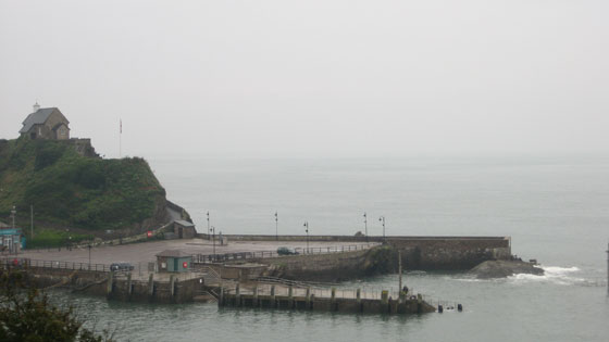 Ilfracombe quay on Monday 15th September 2008
