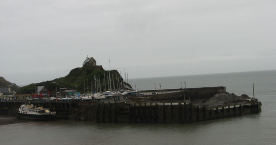 Ilfracombe quay in October 2008