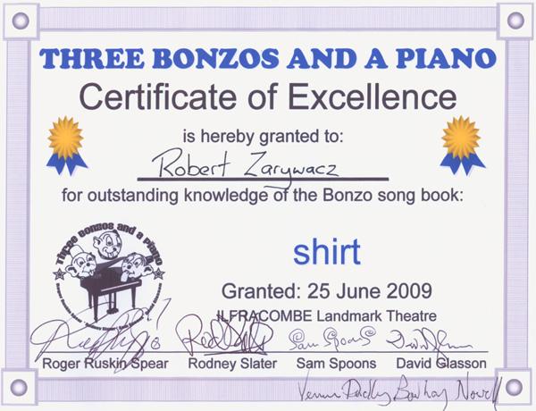 Three Bonzos and a Piano | robzlog.co.uk @robertz