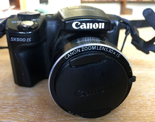 Canon PowerShot SX500 IS | robzlog.co.uk @robertz