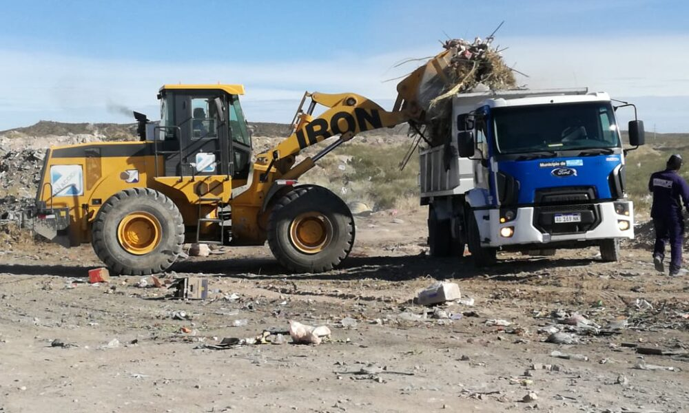ROCA: Se retiraron otras 820 toneladas de residuos domiciliarios en basurales clandestinos
