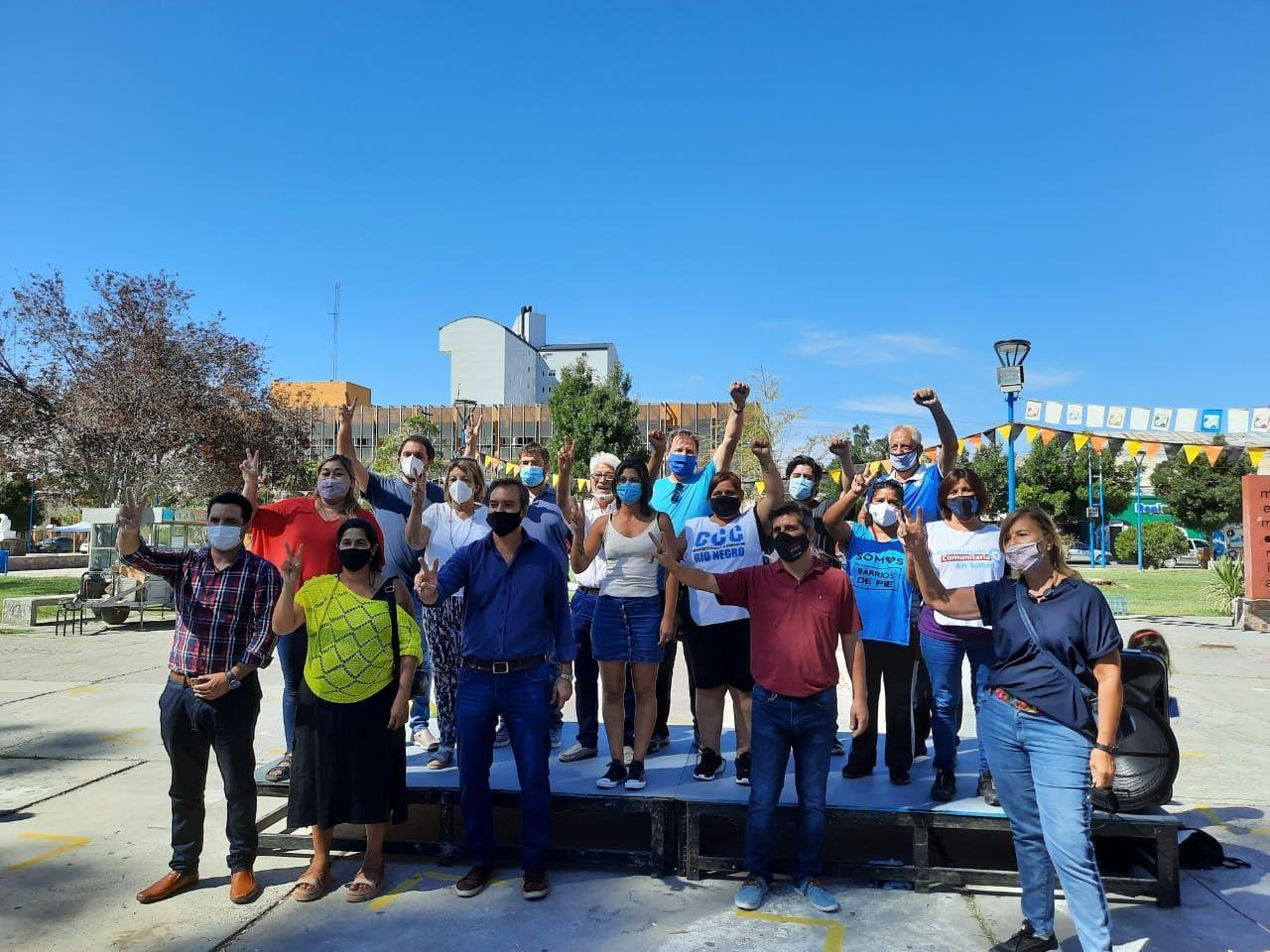 Movimientos Sociales lanzan en Roca una campaña para la Reconstrucción de la Argentina