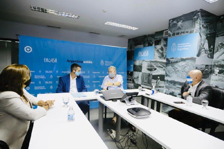 La Gobernadora gestionó ante Nación la pronta licitación de obras de agua en Roca
