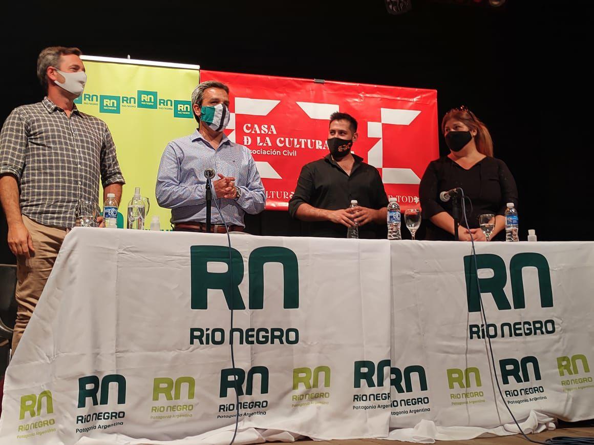 Casa de la Cultura abrió sus puertas al ensamble regional de la Filarmónica de Río Negro
