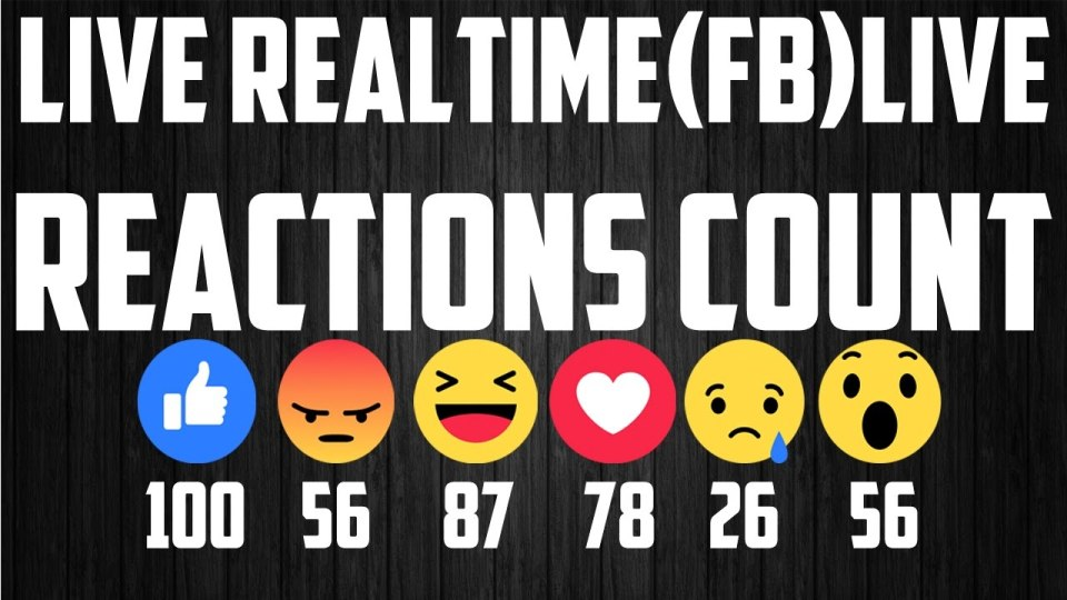 Come creare Dirette Video Live con Facebook Reactions 107