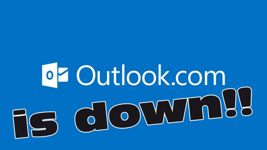 Outlook.com is DOWN under Ddos attack globally 2