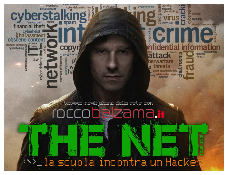 The Net Project Tour - La scuola incontra un Hacker. Un viaggio negli abissi di internet 15