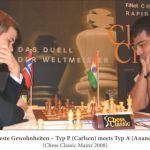 GM Magnus Carlsen und WM Viswanathan Anand