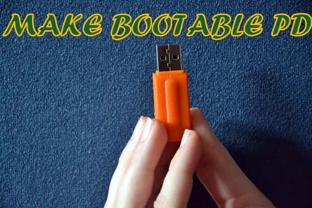 MAKE BOOTABLE PD