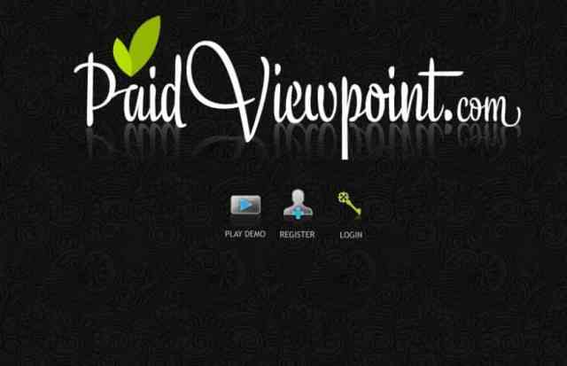 Make money online by PaidViewpoint