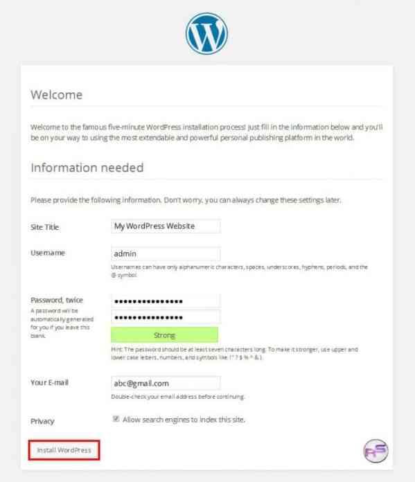wordpress_install
