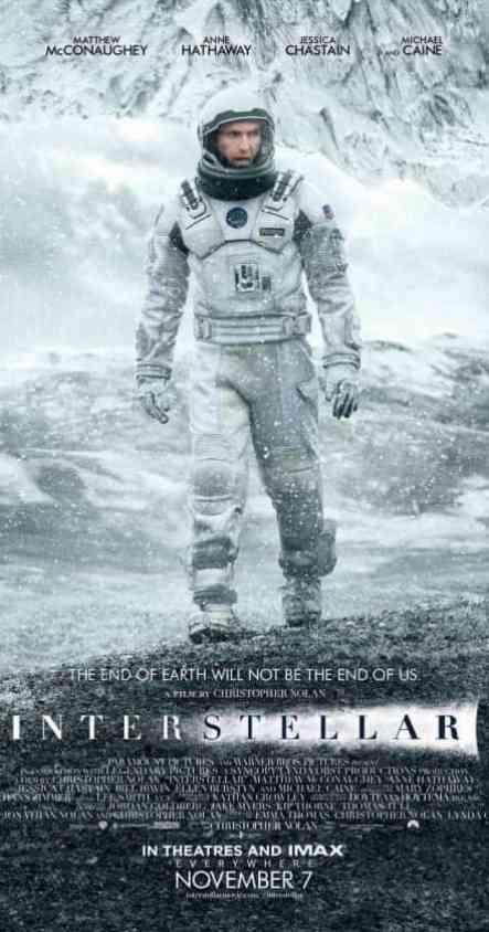 Interstellar best sci fi movies