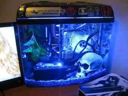 Mineral Oil Cooled PC