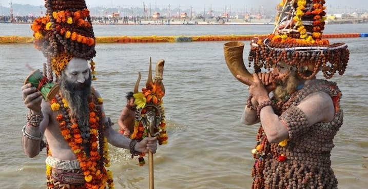 Naga Sadhu image and amusing facts