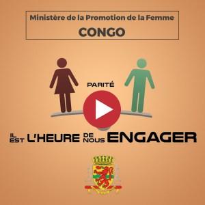Vidéo de promotion de la femme pour le Ministère congolais de l'intégration de la femme au développement