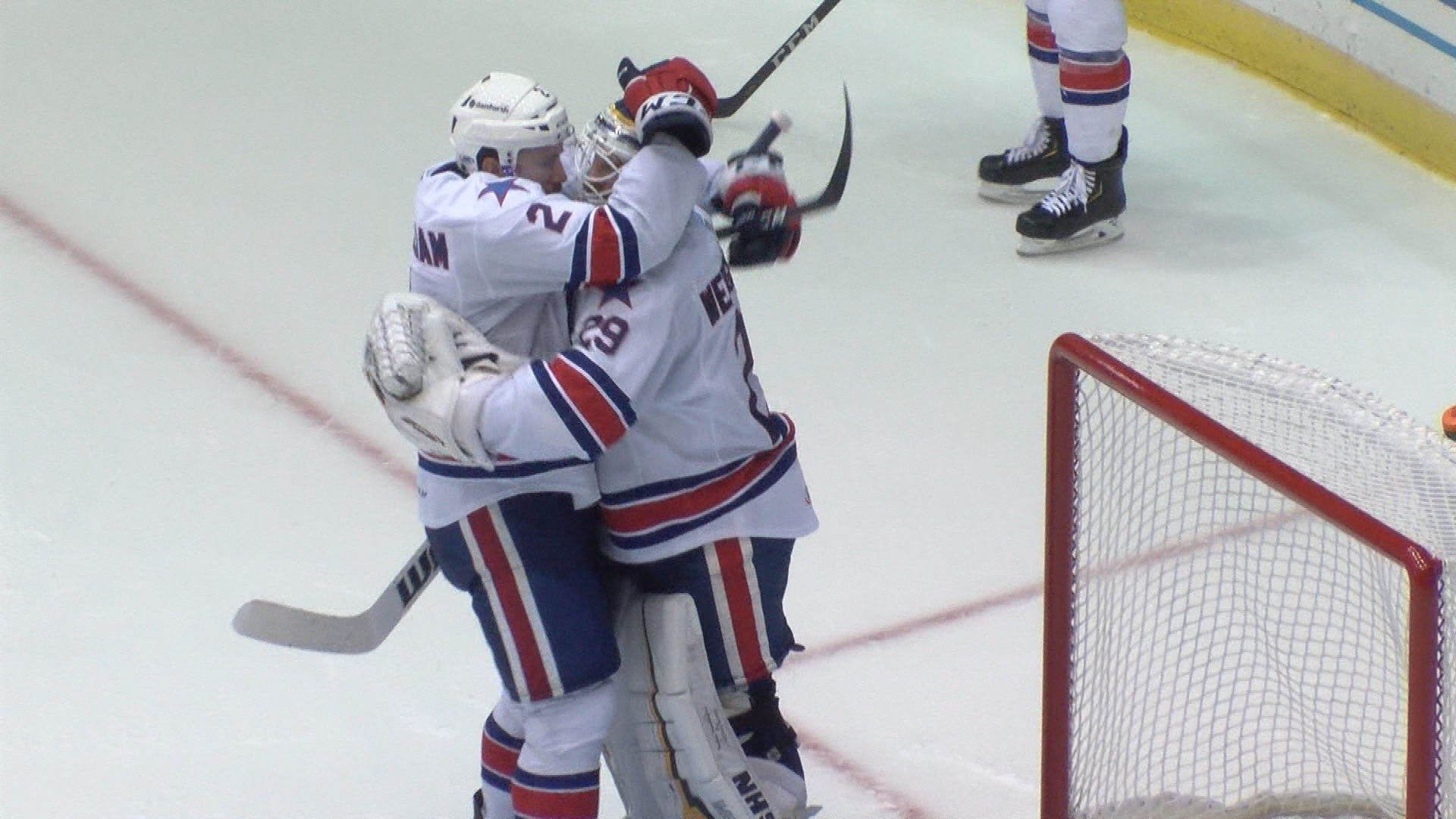 Wedgewood pitches a shutout as Amerks edge the Penguins at home