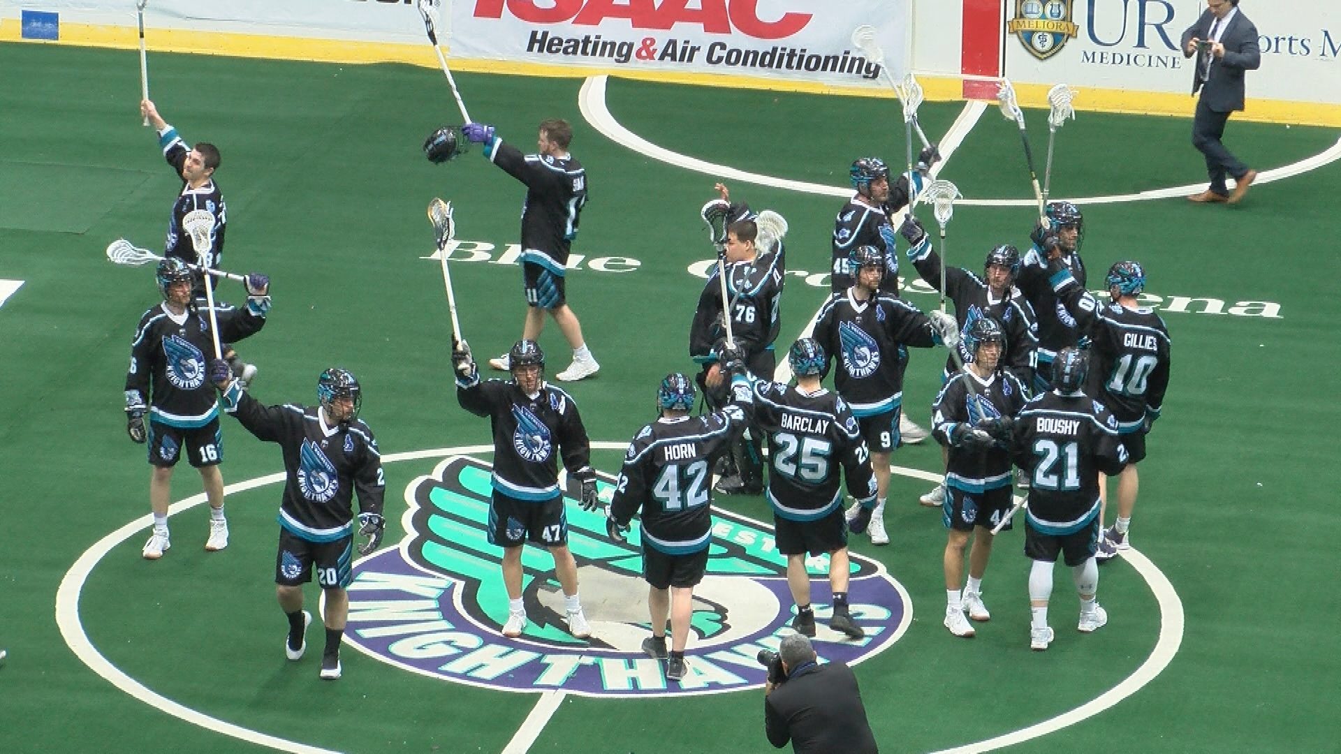 Knighthawks fall 14-12 in final game before move to Halifax