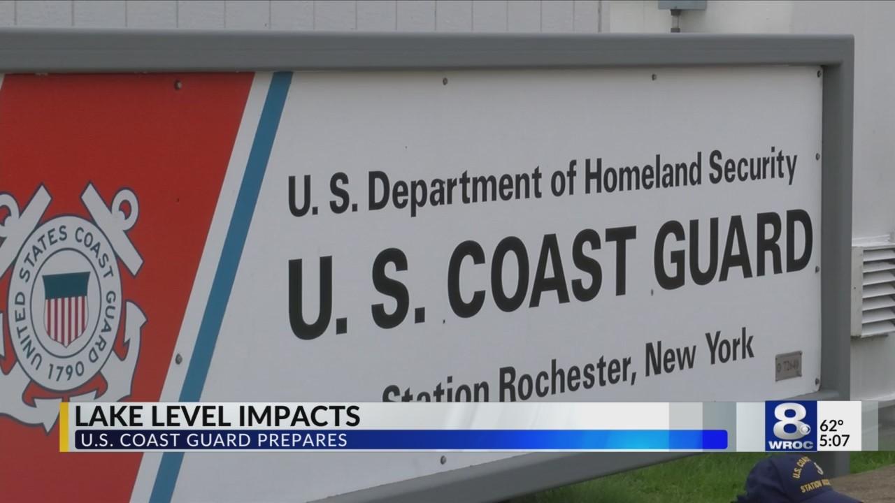 Lake Ontario levels impacting U.S. Coast Guard operations