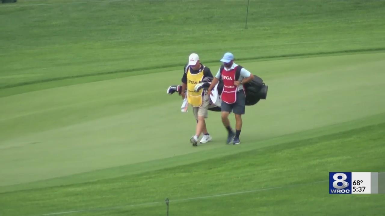 Volunteer make sure Senior PGA Championship runs smoothly at Oak Hill