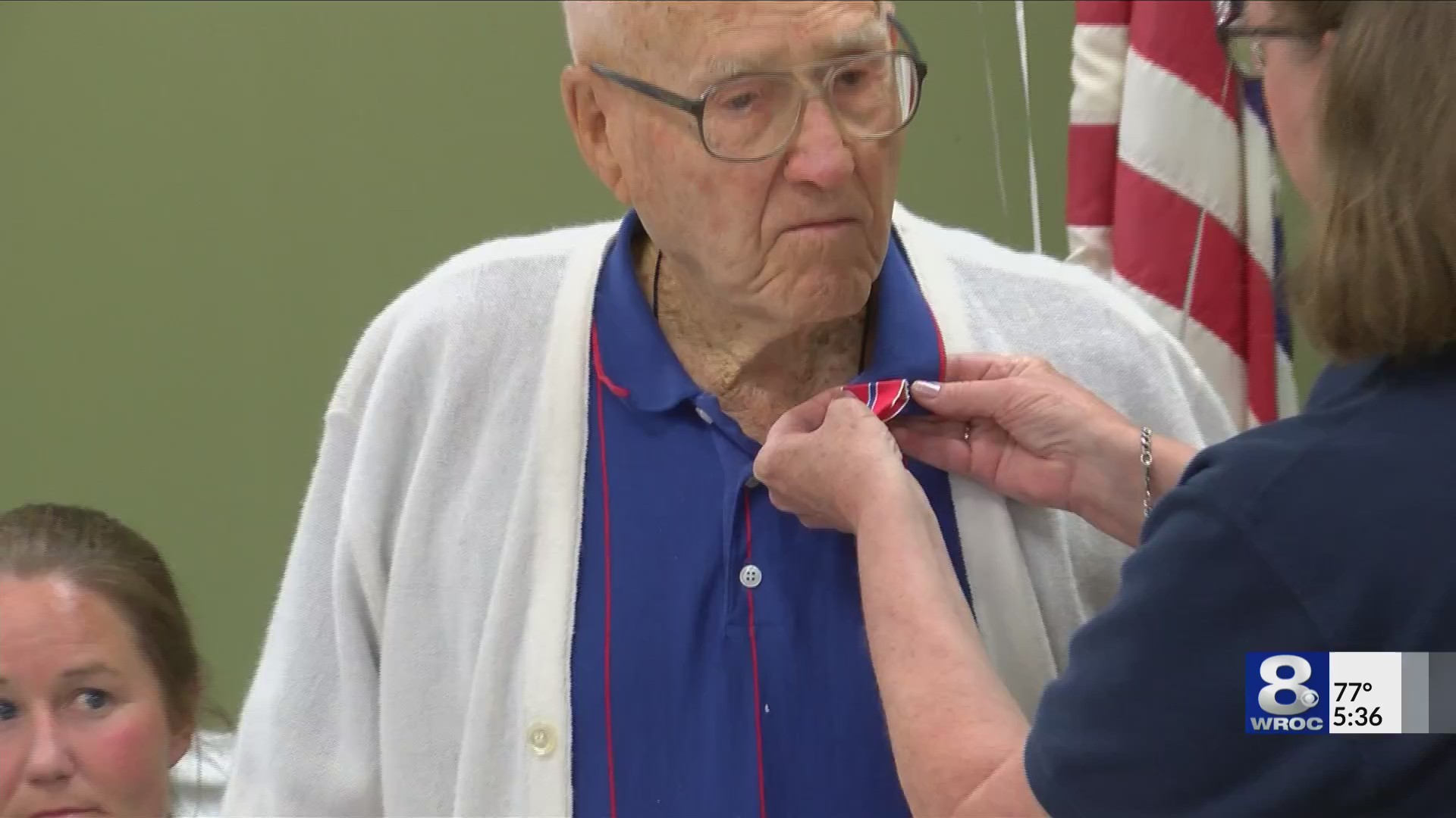 103-year-old Veteran received bronze star and more