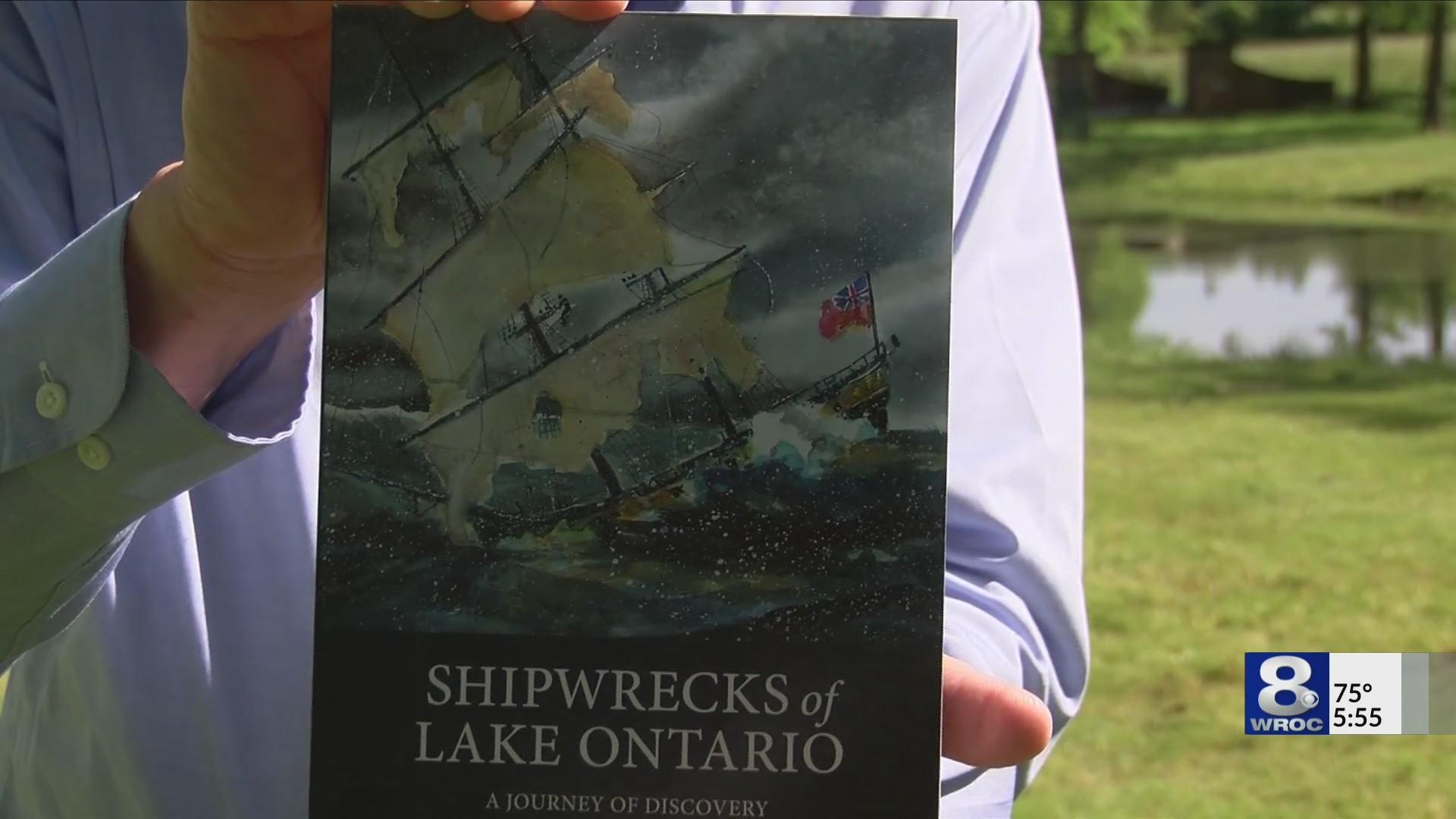 Lake Ontario shipwrecks documented in a new book