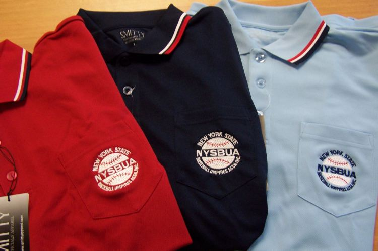 Umpire shirts