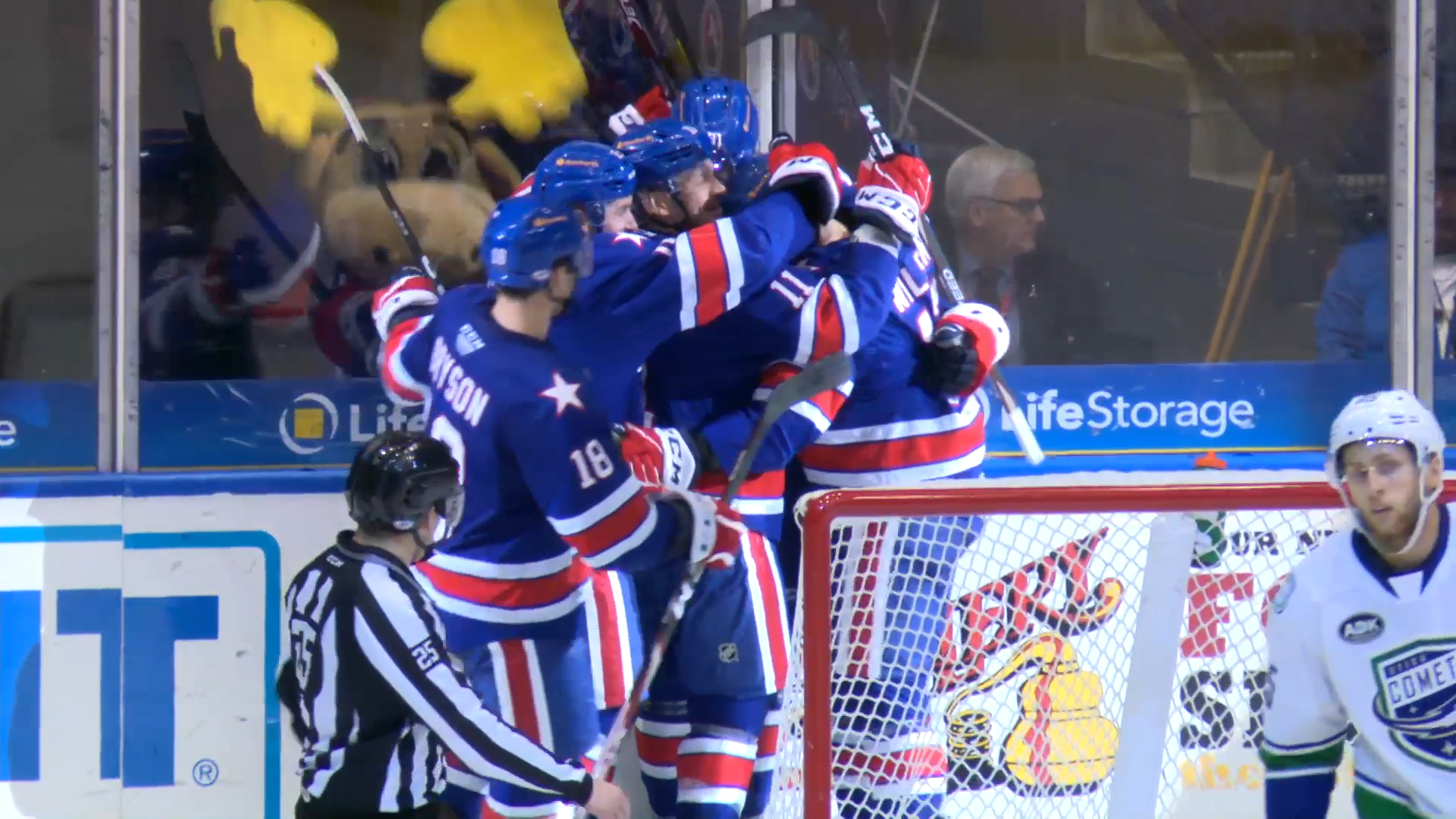AMERKS CELEBRATE