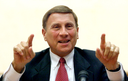 Rep. John Mica says the transportation sector will 'do more with less.' [PHOTO: Orlando Sentinel]